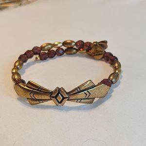 Alex and Ani Vintage 66 Art Deco bracelet